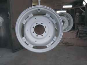 wheels sandblasted